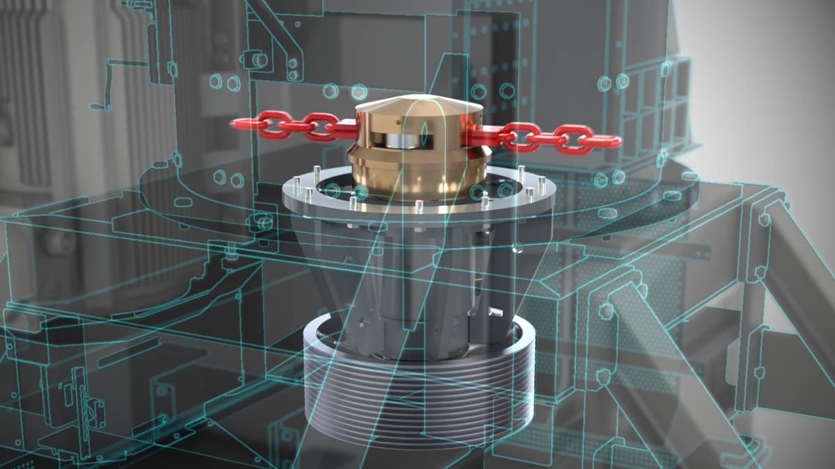 3D-Animation für Maschinenbau Beispiel